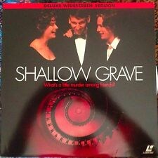 Shallow Grave - Widescreen LASERDISC #800635275-1 Buy 6 for free shipping