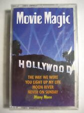 Movie Magic Cassette Tape 1993 Sony Music/Born Free-The Way We Were New Sealed