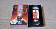 The Crow UK PAL VHS VIDEO 1995 Brandon Lee Superhero Fantasy Comic Book Horror