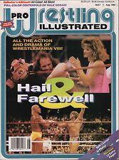 Pro Wrestling Illustrated August 1992 Wrestlemania VIII VG 020316DBE