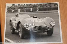Aston martin DB3S peter collins original photographie par louis Klementaski 1954