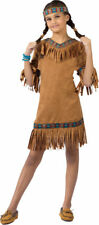 Morris Costumes Girls Western American Indian Childrens Costume 8-10. FW111022MD