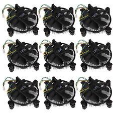 Lot 10x CPU Heatsink Fan Cooler 12V 4Pin For Intel Core2 LGA 775 To 3.8G