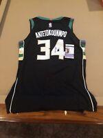 Giannis Antetokounmpo Signed Custom Milwaukee Bucks Jersey w  JSA COA NBA  STAR 61ef37db2