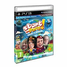Start the Party Save the World ~ PS3 Move (Like New in Condition)
