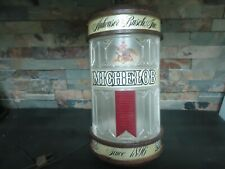 VINTAGE AMHEUSER BUSCH MICHELOB-LIGHT-BEER-BAR-LAMP-ADVERTISING
