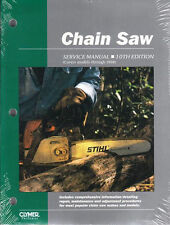 Chain Saw Repair Manual Stihl Poulan Redmax Husqvarna McCulloch Deer Echo CSS10