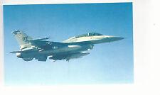 F-16D Fighting Falcon     Unused Postcard 8254 Plane