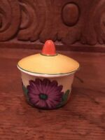 Lovely Clarice Cliff Gayday Mustard Pot