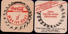 COCA COLA  -  WAS IST DAS ?  COASTER FROM GERMANY MA15129