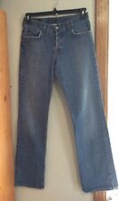 Lucky Brand American Made - Blue Stretch Straight Denim Jeans Size 4 - 30x34