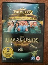 Bill Murray THE LIFE AQUATIC WITH STEVE ZISSOU ~ 2004 Wes Anderson 2-Disc UK DVD
