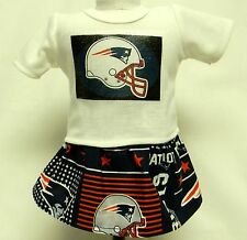 New England Patriots Outfit For 18 Inch Doll