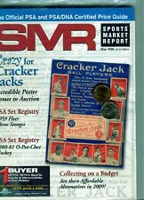 New listing MAY 2009 CRACKER JACKS COVER SMR PSA SPORTS MARKET REPORT PRICE GUIDE  MINT