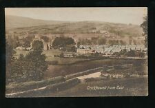 Wales Breconshire CRICKHOWELL from east 1924  PPC