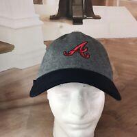 Team Nike Atlanta Braves Hat Cap MLB Swoosh Strapback Big A Logo