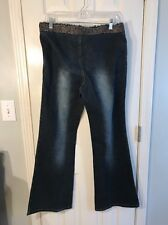 HUGE MARKDOWN👖👖To The Max Denim Size 13 Accented Blue Jeans With Bling