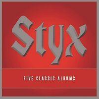Styx - 5 Classic Albums [New CD] UK - Import