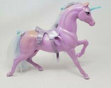 Vintage 1983 Mattel Barbie Swan Lake Unicorn Purple Horse Figure Doll