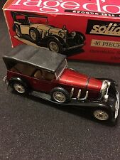 Solido MERCEDES SS 1928 Torpedo * Ref. 137 * series 100 * Red  *RARE*1960's