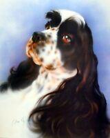 English Springer Spaniel Dog Home Wall Decor Art Print Picture (8x10)