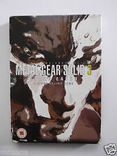 METAL GEAR SOLID 3 Limited Edition pour PLAYSTATION 2 TRÈS RARE & HARD TO FIND""