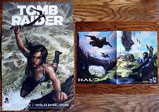 Tomb Raider & Halo PAX Prime Promo Dark Horse Poster - Rise 4 5 Guardians