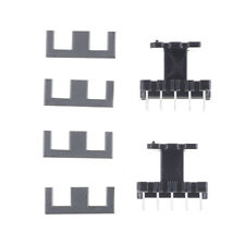 5set PC40 EE25 5+5pins Ferrite Cores bobbin, transformer core, inductor HF