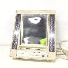 Vintage General Electric Lighted Makeup Mirror Working #710