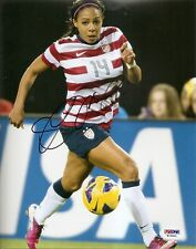Sydney Leroux Sexy Gold Medal Olympics World Cup Signed Auto 8x10 Psa/Dna