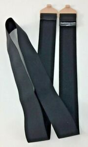 "Fastomy non-slip X LARGE Black Ostomy Belt FITS 40""-50"" for Convatec & Hollister"