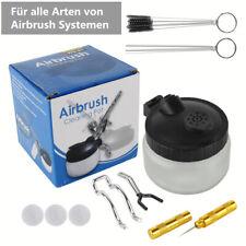 Cleaning Pot Airbrush Zubehör Set Reinigungstopf Bürsten Reamer Reinigungs Set