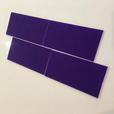 Rectangular Acrylic Wall Tiles - Purple