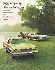 Mercury Station Wagons 1976 USA Market Sales Brochure Bobcat Montego Marquis