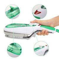 Portable 1000W Electric Steam Iron Handheld Fabric Laundry Brush Steamer B5G5