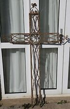 19th Century Cast Iron French Cross