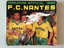 RARE ANNUAIRE OFFICIEL FC NANTES 1980