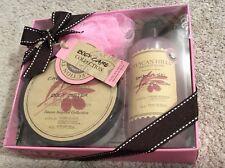 TUSCAN HILLS Gift Set: Cherry Blossom 6.75oz Body Butter & 8.4oz Shower Gel. NEW