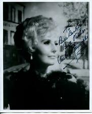 Barbara Stanwyck Signed Photo Autograph Actress The Big Valley Double Indemnity