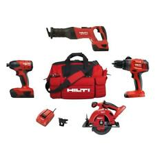 Hilti Cordless Combo Kit With 4 Tools and Extras,BRAND NEW.