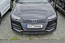SONDERAKTION Spoilerschwert Frontspoiler Lippe ABS für Audi A4 S4 B9 S-Line ABE