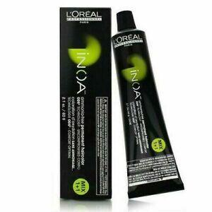 L'OREAL INOA AMMONIA-FREE  PERMANENT HAIR COLOR   2.1 OZ  (Choose Your Color)