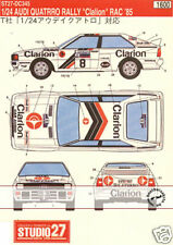 STUDIO 27 CLARION DECAL TAMIYA 1/24 AUDI QUATTRO RALLY