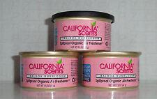 California Scents 3 Duftdosen Balboa Bubblegum ► Kaugummi + 1 Deckel