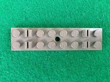 LEGO 1 TRAVERSA FERROVIARIA TRENO grigio Art.4166 2x8 Eisenbahnschwelle alt-grau