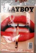 PLAYBOY Magazine FACTORY SEALED The INDULGENCY Issue $8 Nov13