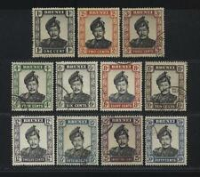 [JSC] 1964 BRUNEI Sultan Old Stamps Collection