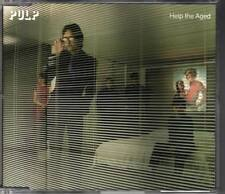 PULP Help The Aged 3 track CD EP germany jarvis cocker
