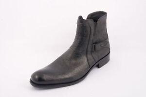 Authentic Luigi Traini Leather Italian Designer Boots New Collection Size 40