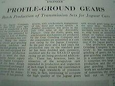 1955 item - gear grinding company ltd shirley birmingham 3 pages